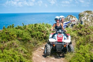 Ruta en quad doble por Ribadesella con vistas al mar